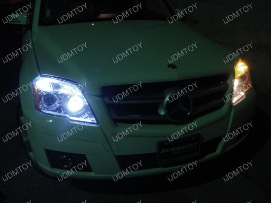 Mercedes - GLK350 - LED - parking - lights 2
